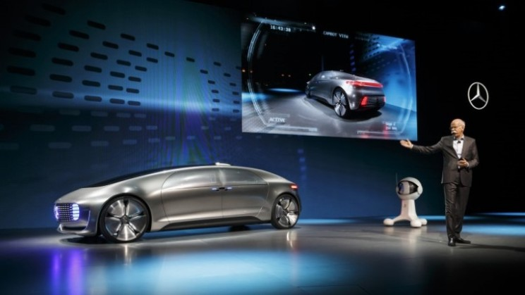 Mercedes leaps into the future with the F015