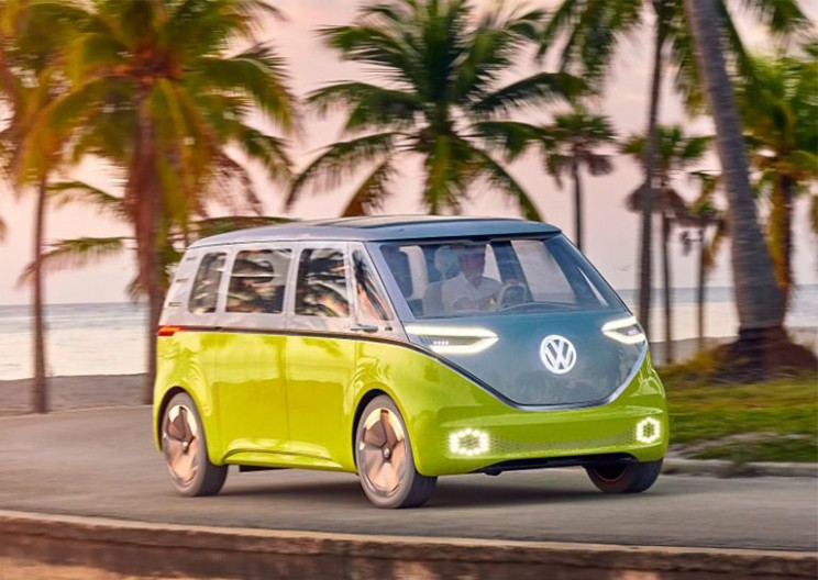 Volkswagen Will Bring Back Its Iconic Microbus as an All-Electric Van