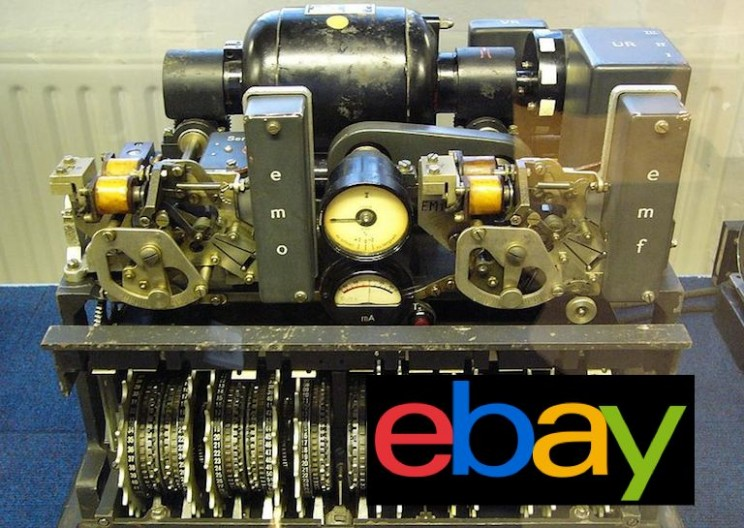 Rare Nazi Coding Machine Sold on Ebay for $14