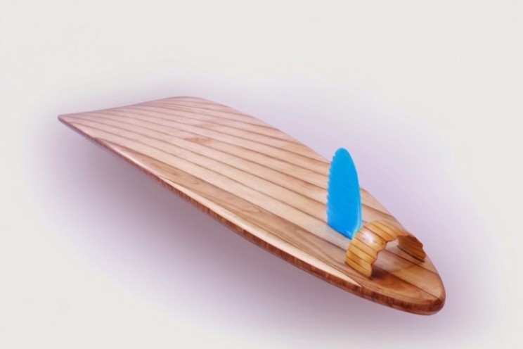 The Rampant could be the most expensive surfboard at $1.3 million