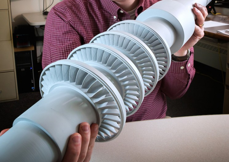 GE Invents Mini Turbine that Could Revolutionize the Energy Industry