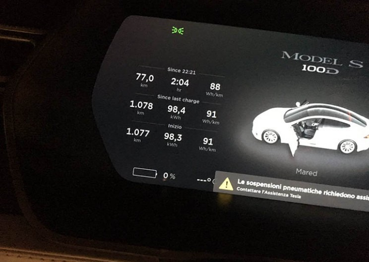 A Tesla Model S 100D Just Set a New Record After Driving 670 Miles on a Single Charge