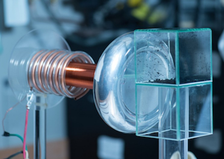 Modified Tesla Coil Can Assemble Nanotubes Using Force Fields