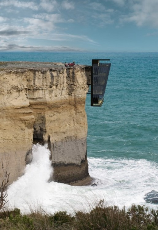Australian Cliff House concept has its owners over the edge