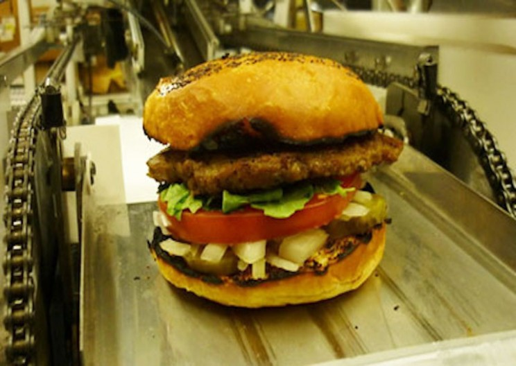 Robots That Make 400 Burgers an Hour May Soon Take over Fast Food Restaurants