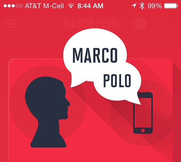 Find your phone by playing Marco Polo