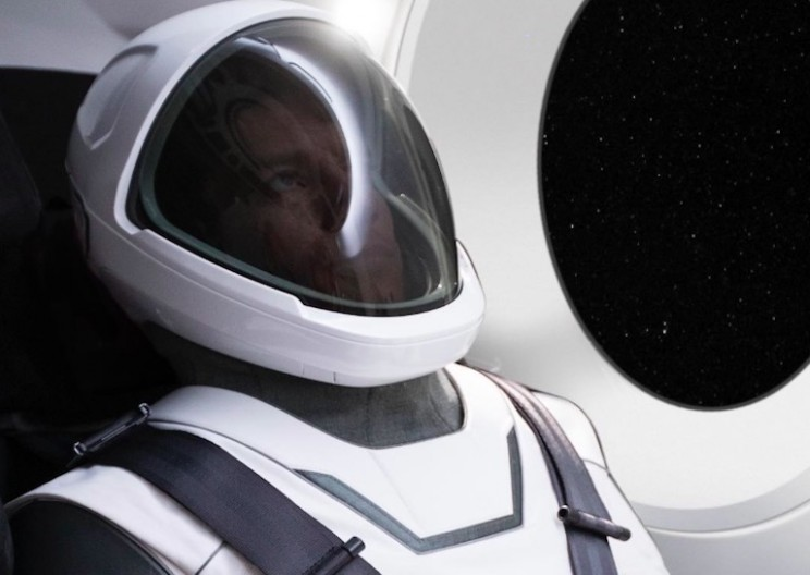Elon Musk Just Gave Us Our First Look at SpaceX Spacesuit!