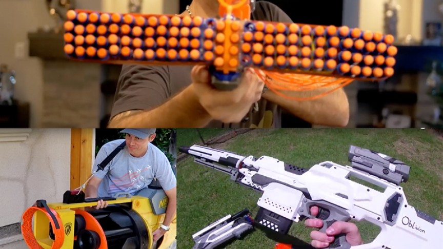Top 10 Coolest Nerf Gun Rigs for the Kid in Everyone
