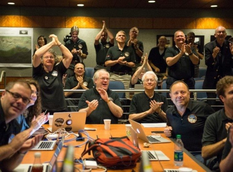 New Horizon makes it into history books as it flies past Pluto