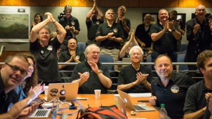 New Horizon makes it into history books as it flies past Pluto