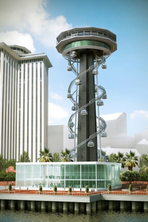 Tricentennial Tower gondola ride proposed for New Orleans