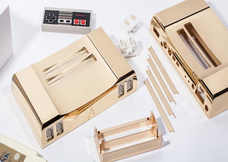 24K Gold Nintendo NES that Costs $5,000