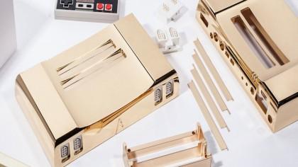 24K Gold Nintendo NES that Costs $5,000