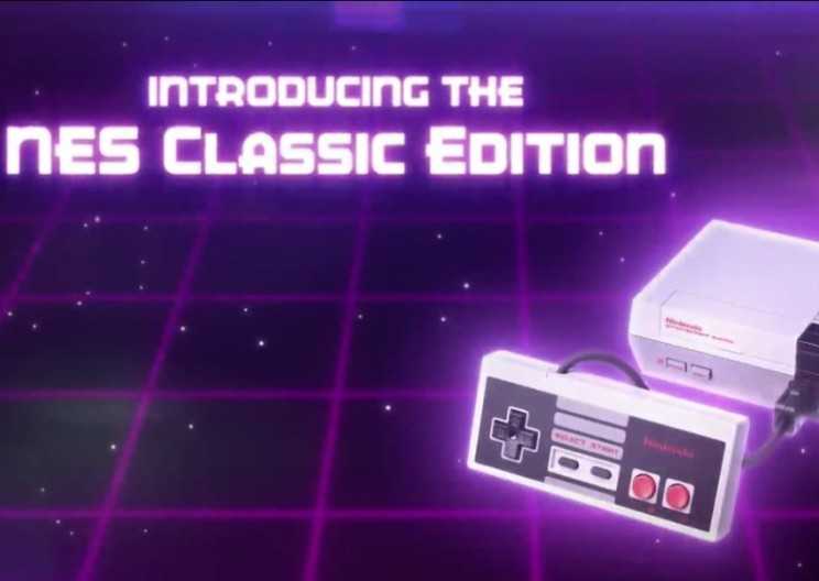 Childhood Restored: Nintendo plans to release smaller version of classic NES