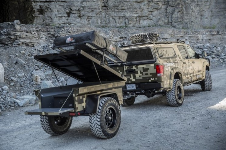 Project Titan: The custom military look truck with attitude
