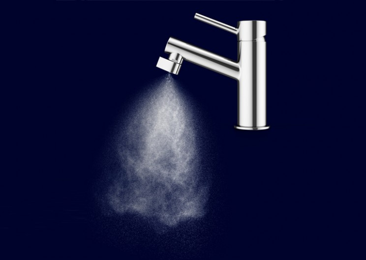 Altered: Nozzle Saves 98% of Water by Atomizing