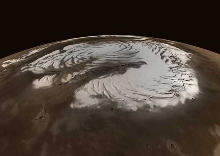 Mars Emerges from an Ice Age – It's Time to Nuke It