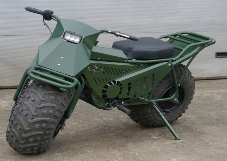 Russian Off-Road Motorbike can Navigate Any Terrain