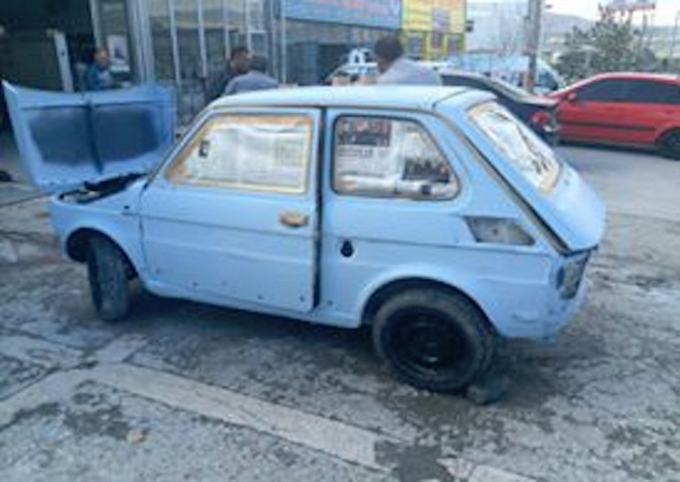 Man Converted Old Fiat into Fully Electric Car