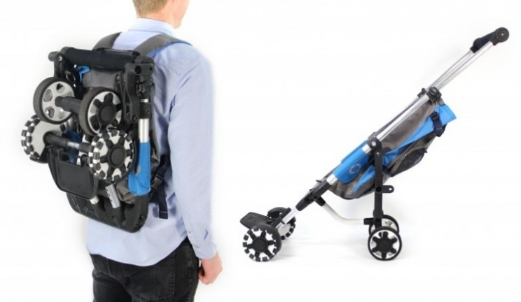 OmniO Rider is the stroller that turns into a backpack