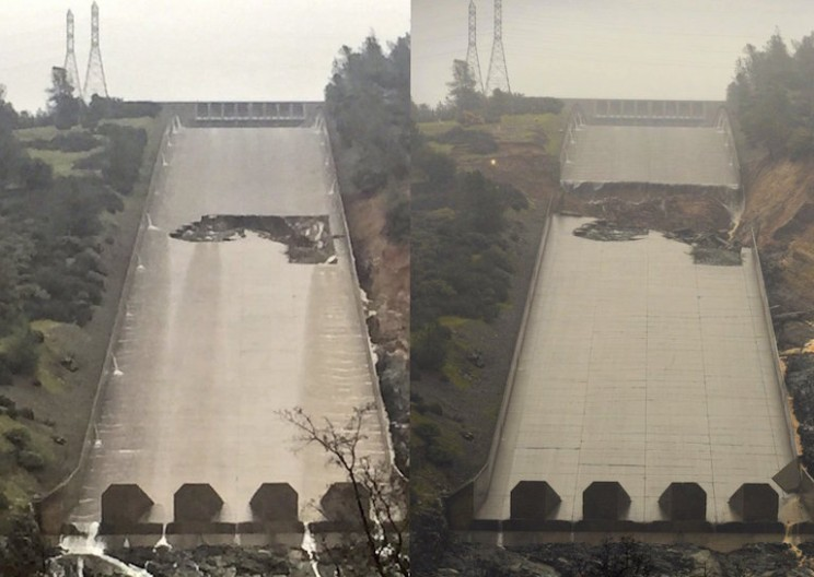 The US's Tallest Dam May Catastrophically Fail and Endanger