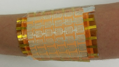 Scientists create an inexpensive prototype for the human skin