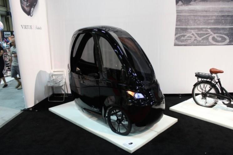 Is it a car? Is it a bike? It's both! Meet the Virtue Velomobile Pedalist