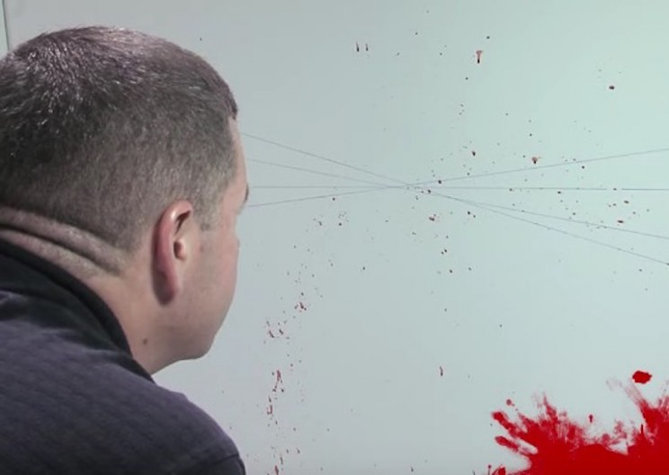 The Physics Behind the Analysis of Blood Splatter in Crime Scenes