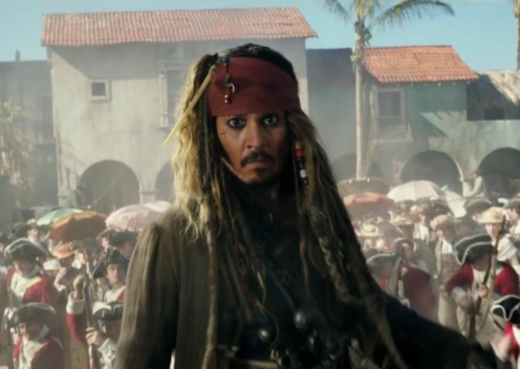 Internet Pirates Hold Captive a Pirated Version of Pirates of the Caribbean 5