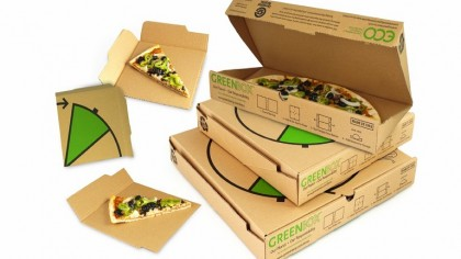 The World's Most Efficient Pizza Box