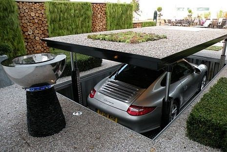 James Bond style parking for your driveway