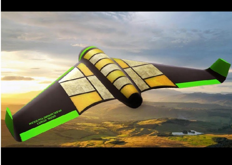 Facebook Drone Made of Food Components to Deliver Humanitarian Aid