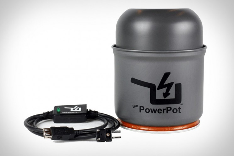 PowerPot - A Home Thermoelectric Power Station