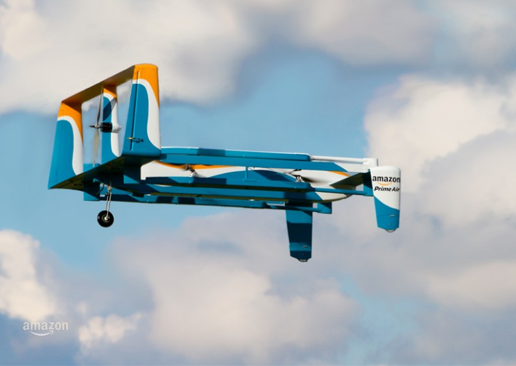 Amazon Delivers Package by Drone in 13 Mins!