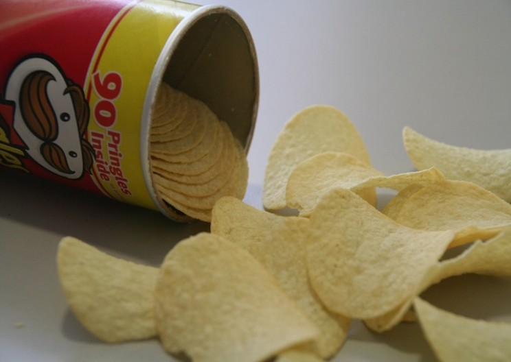 Geometry of Pringles: The Crunchy Hyperbolic Paraboloid