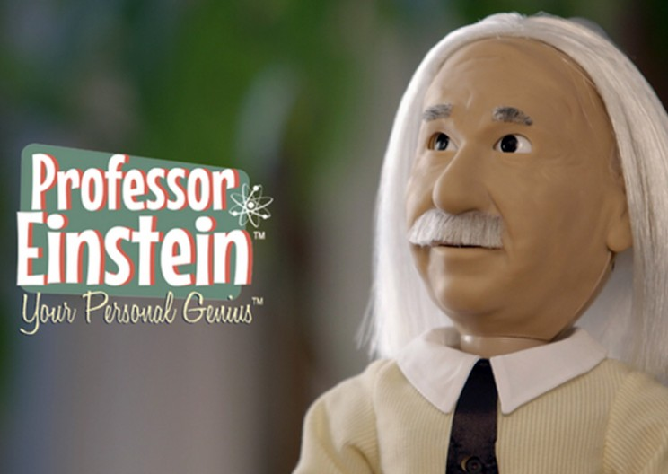 This Miniature Einstein Robot Can Be Your Personal Genius