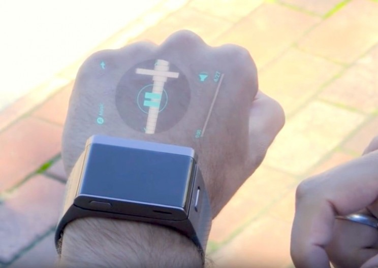 You Can Now Buy a Smartwatch with a Built-in Projector