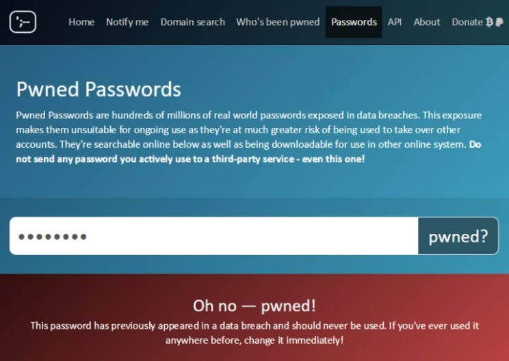 This Website Knows if Your Passwords Have Been Stolen