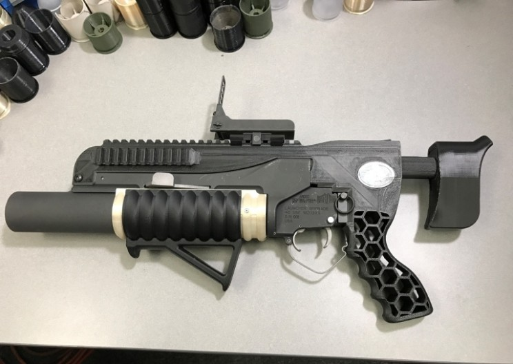 The US Army Developed this Unique 3D Printed Grenade Launcher