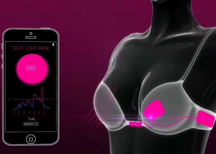 Japanese Company Designs Bra That Opens Only for True Love