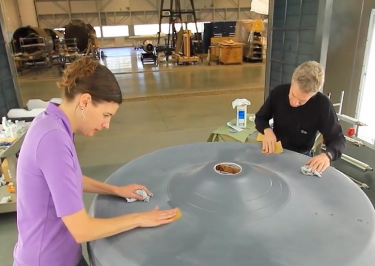 Smithsonian Restoring the Original Star Trek Enterprise Model