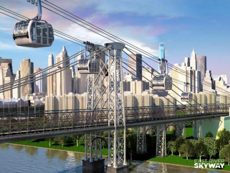 New York could get high speed gondolas in the future via East River Skyway