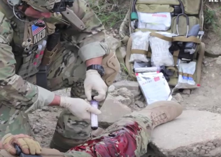 Wound Plugging Syringe Has Saved its First Life on the Battlefield