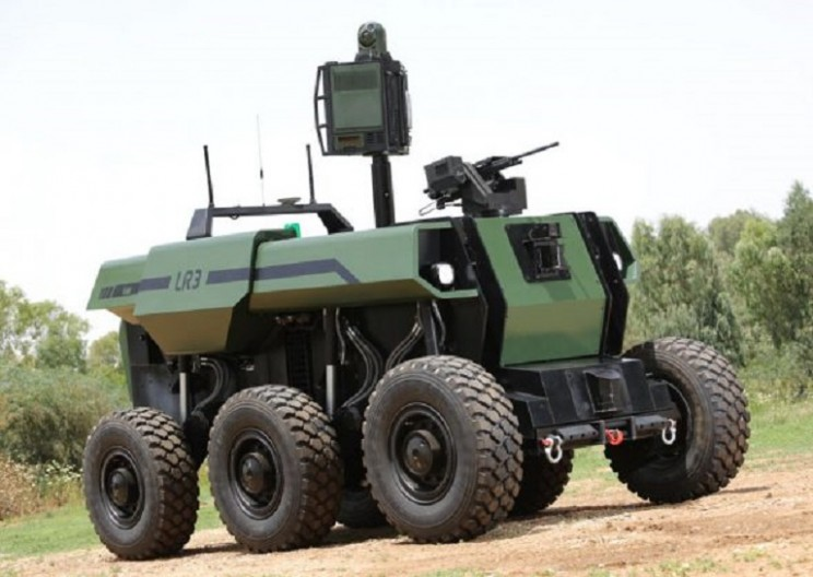 Israel Announced Unmanned Combat Vehicle