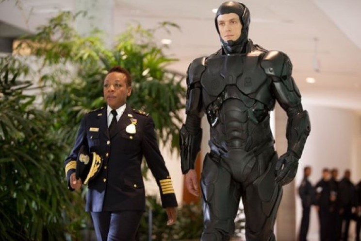 New Robocop suit was 3D printed