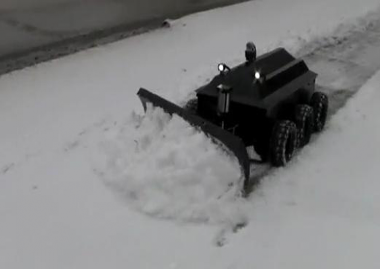 Roboplow- The Snowplow Robot