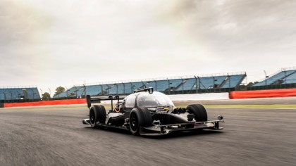 Roborace: First-Ever Self-Driving Car Race Finishes With a Crash