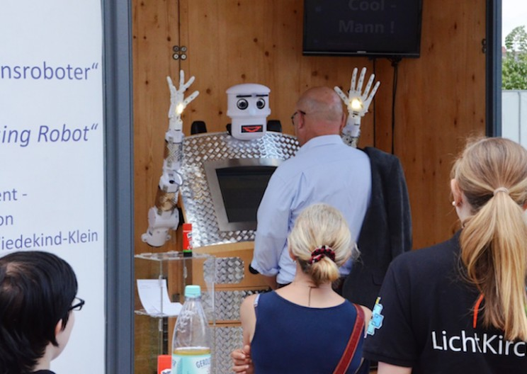 "You Can Get Blessed by a Robotic Priest Called ""BlessU-2"" in Germany"
