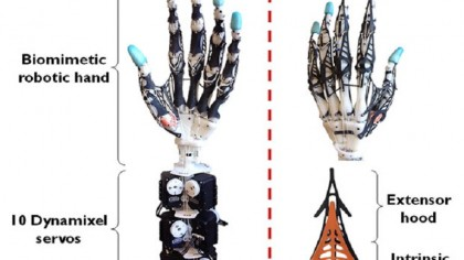 This has to be the most realistic robotic hand ever!