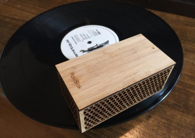 RokBlok: A Portable Record Player for On-the-go Nostalgia